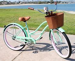 ladies, beach cruiser, bicycles, rentals, san diego, pacific beach, bike, bike shop, bikes, bicycle accessories, bike rental, bicycle rental, bike rentals, pacific beach bike shop, san diego, 92109, san diego bike shop, bike shops san diego