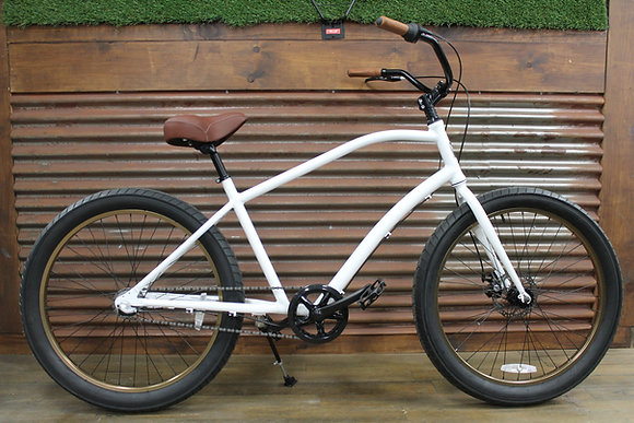 3.0 3 Speed White Men's Aluminum Cruiser