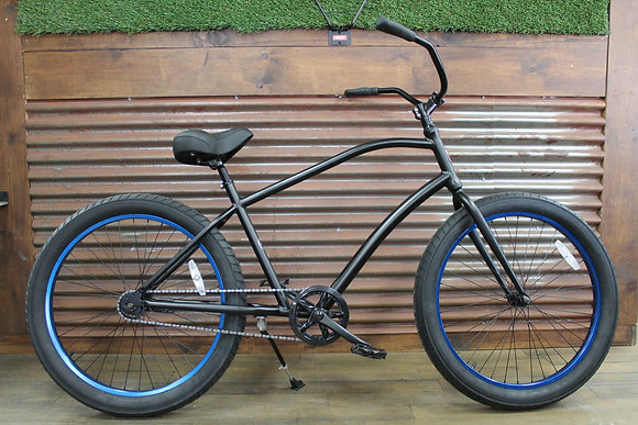 3.0 Ocean Ave Flat Black Men's Aluminum Cruiser
