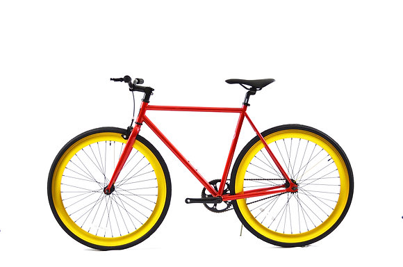 Red/Gold Fixie
