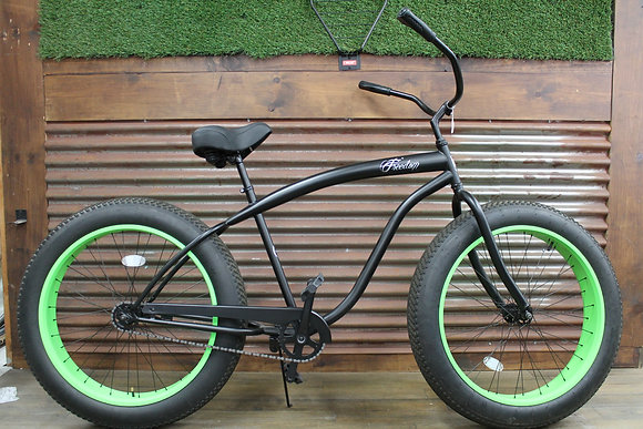 4.0 Matte Black/Green Men's Cruiser