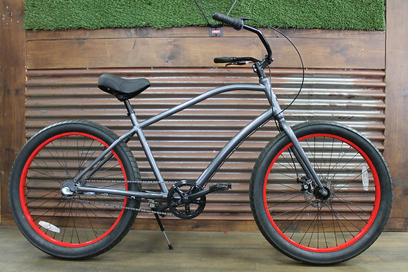3.0 3 Speed Grey Men's Aluminum Cruiser