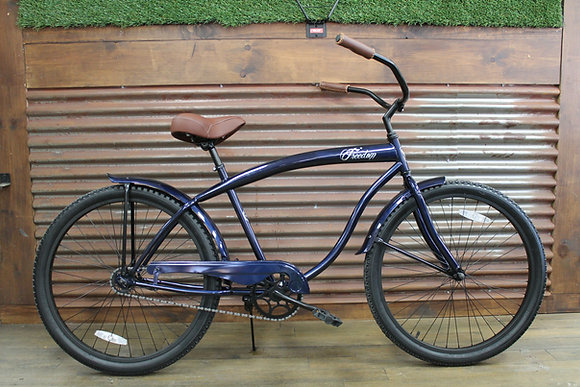 "26"" Dark Blue/Black Men's Cruiser"