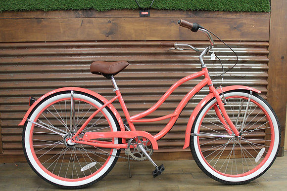 "26"" Coral 3 Speed Ladies Cruiser"