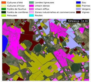 Premières validations de la carte d'occupation du sol OSO
