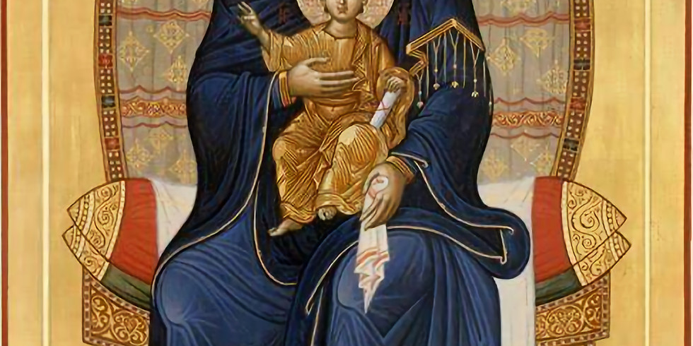 The Salutations to the Theotokos - Second Stanza