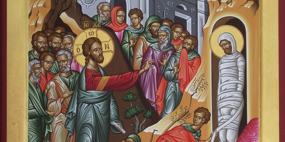 Orthros and Divine Liturgy for the Saturday of Lazaros
