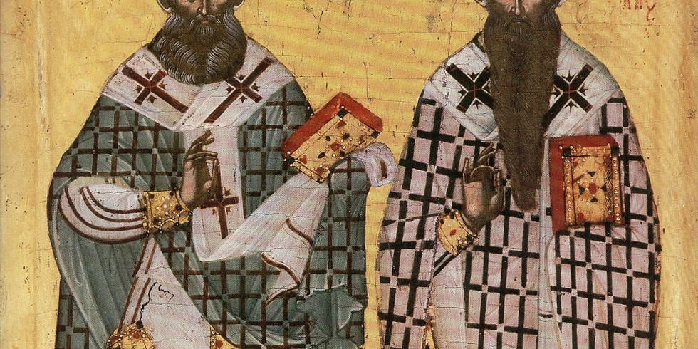 Orthros and Divine Liturgy for Saints Athanasios and Cyril