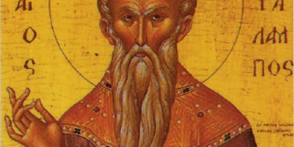 Orthros and Divine Liturgy for St. Haralambos the Hieromartyr