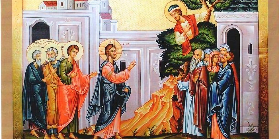 Orthros and Divine Liturgy for the 15th Sunday of Luke