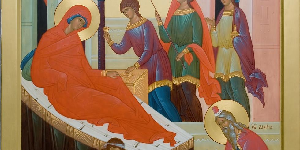 Orthros and Divine Liturgy: Birth of our Parish Patron, St. John the Baptist