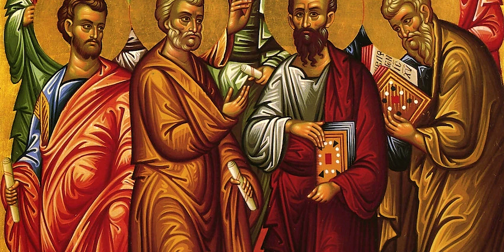 Orthros and Divine Liturgy: Feast of the 12 Holy Apostles