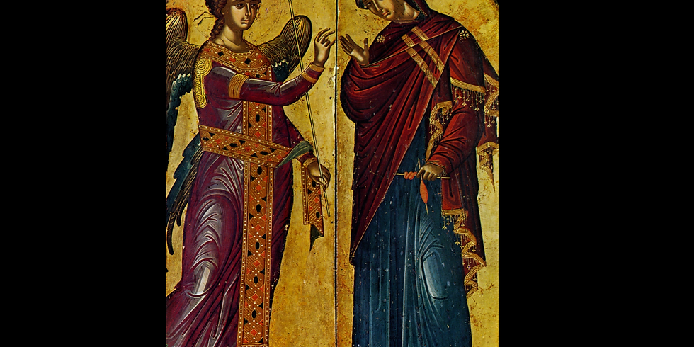 Orthros and Divine Liturgy for the Feast of the Annunciation of our Most Holy Lady the Theotokos