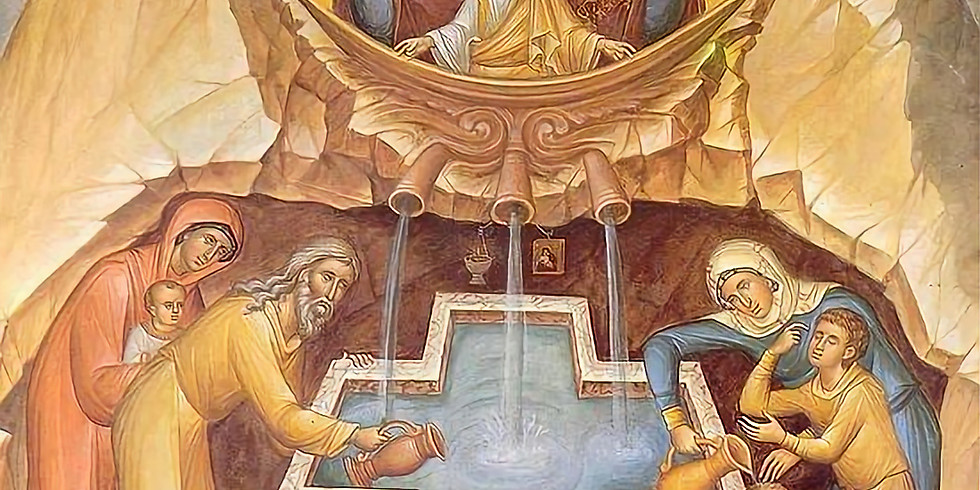 Orthros and Divine Liturgy for the Theotokos, The Life-Giving Spring