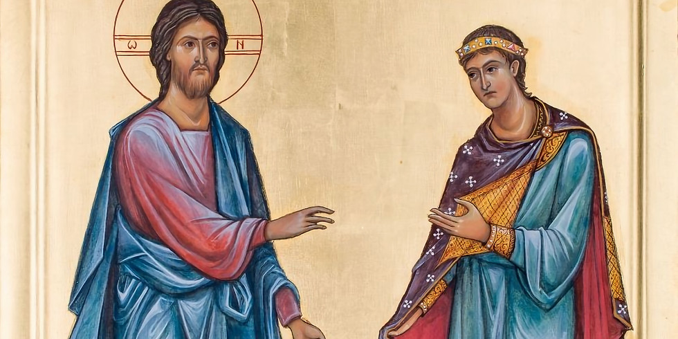 Orthros and Divine Liturgy for the 13th Sunday of Luke