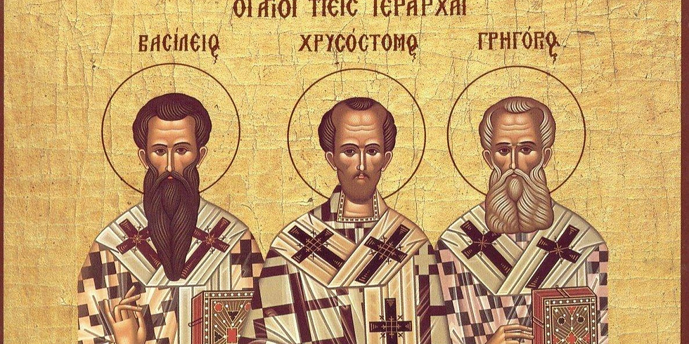 Orthros and Divine Liturgy for the Three Holy Hierarchs