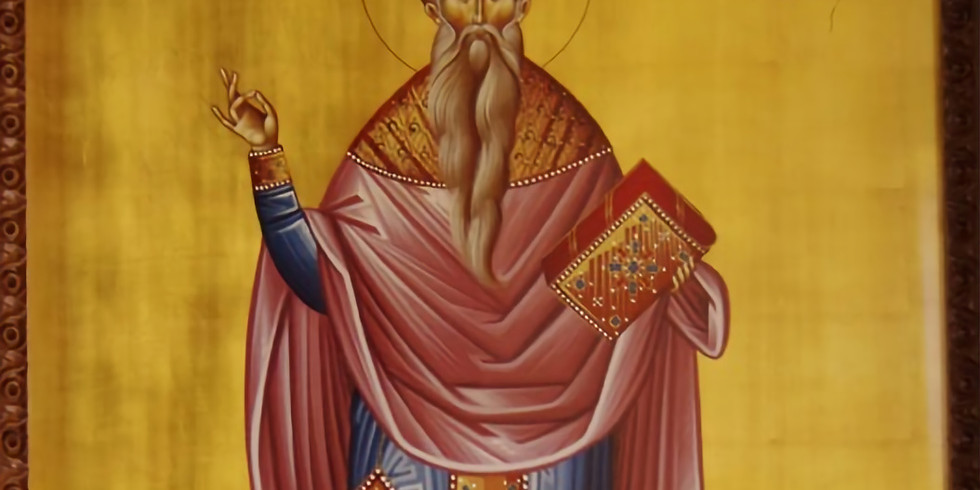 Orthros and Divine Liturgy for St. Haralambos the Priest-Martyr