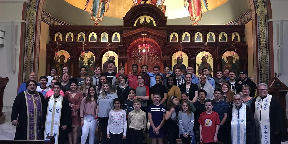 Annual Teen Overnight Lenten Retreat