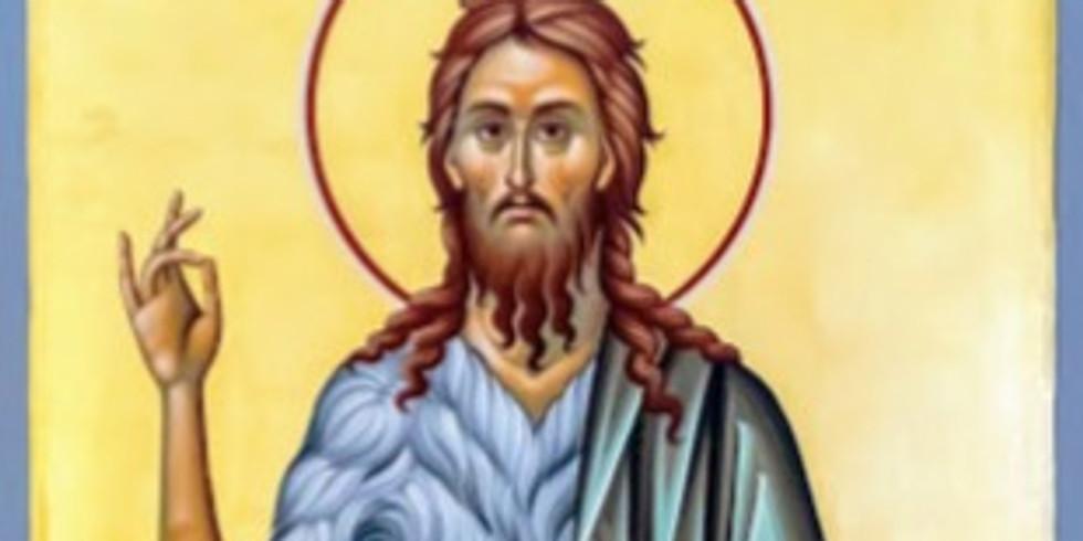 Orthros and Divine Liturgy for St. John the Baptist