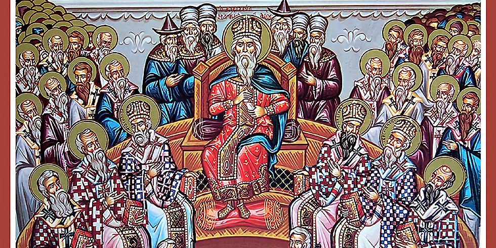 Orthros and Divine Liturgy for the Fathers of the 4th Ecumenical Council