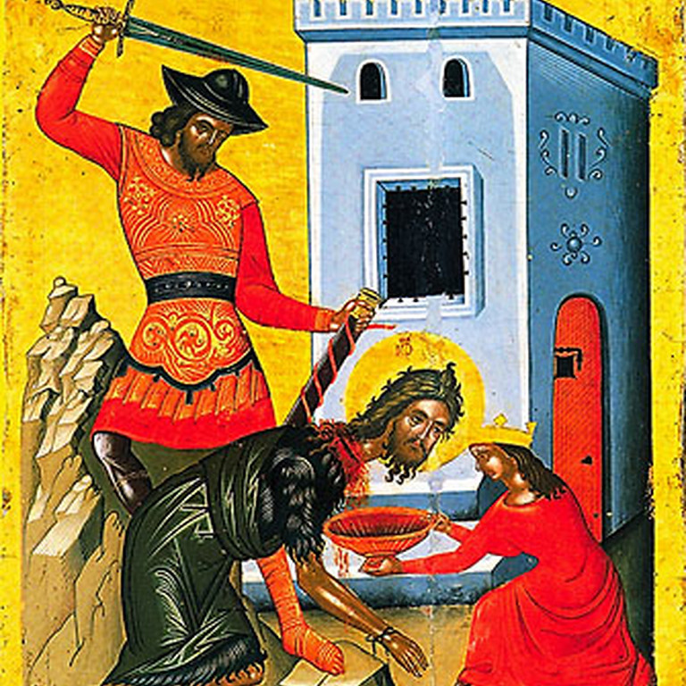 Orthros and Divine Liturgy for the Beheading of St. John the Baptist