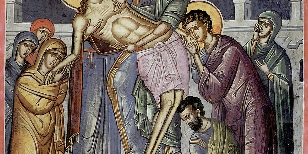 Holy Friday - Removal of Christ From the Cross