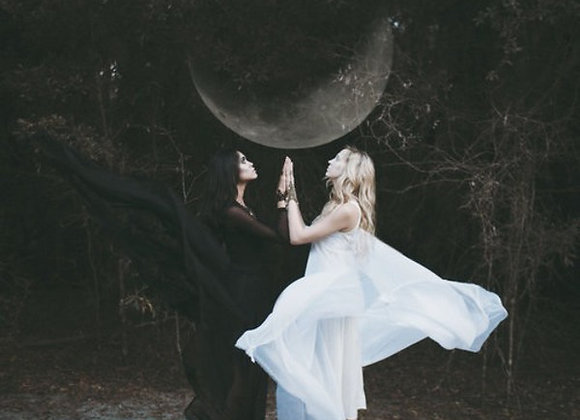 Mother & Daughter Witch's Blessing (Lady Eirene & White Witch Daena)