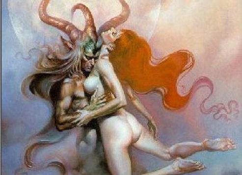High Ceremonial Black Magick Lucifer & Lilith Love and Sex  (Eirene & Daena)