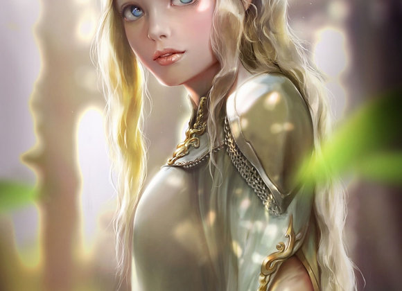 Custom Conjure Elven Spirit