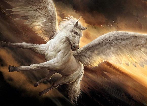 Custom Conjure Pegasus or Unicorn