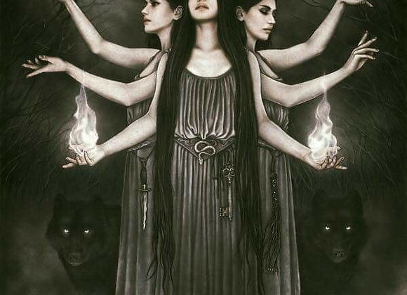High Ceremonial Black Magick Hekate Curse Removal (Eirene & Daena)
