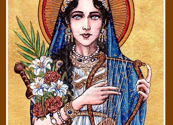 Saint Cecilia Blessing for Musicians (Lady Eirene & Daena)