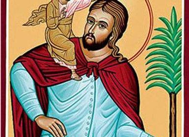 Saint Christopher Travel Blessing (Lady Eirene & Daena)