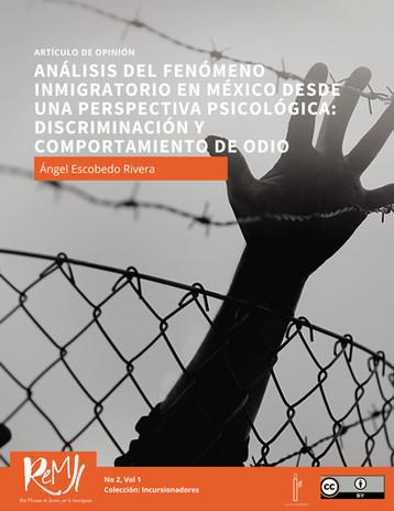 Análisis del fenómeno inmigratorio en México: Discriminación y comportamiento de odio