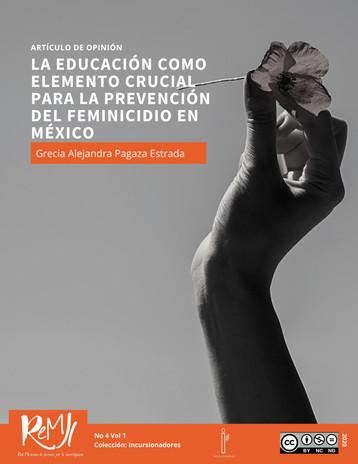 La educación como elemento crucial para la prevención del feminicidio en México