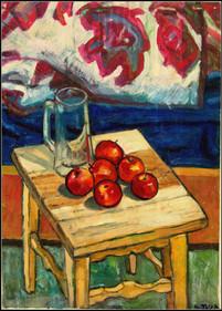 Fruits & glass