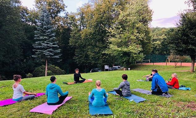 .... 🧘🏻♀️ schön mit euch 🧘🏻♀️#yoga