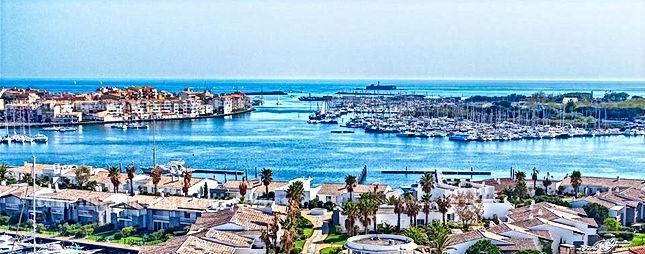 LHS-IMMO Entrée du Port du Cap d'Agde