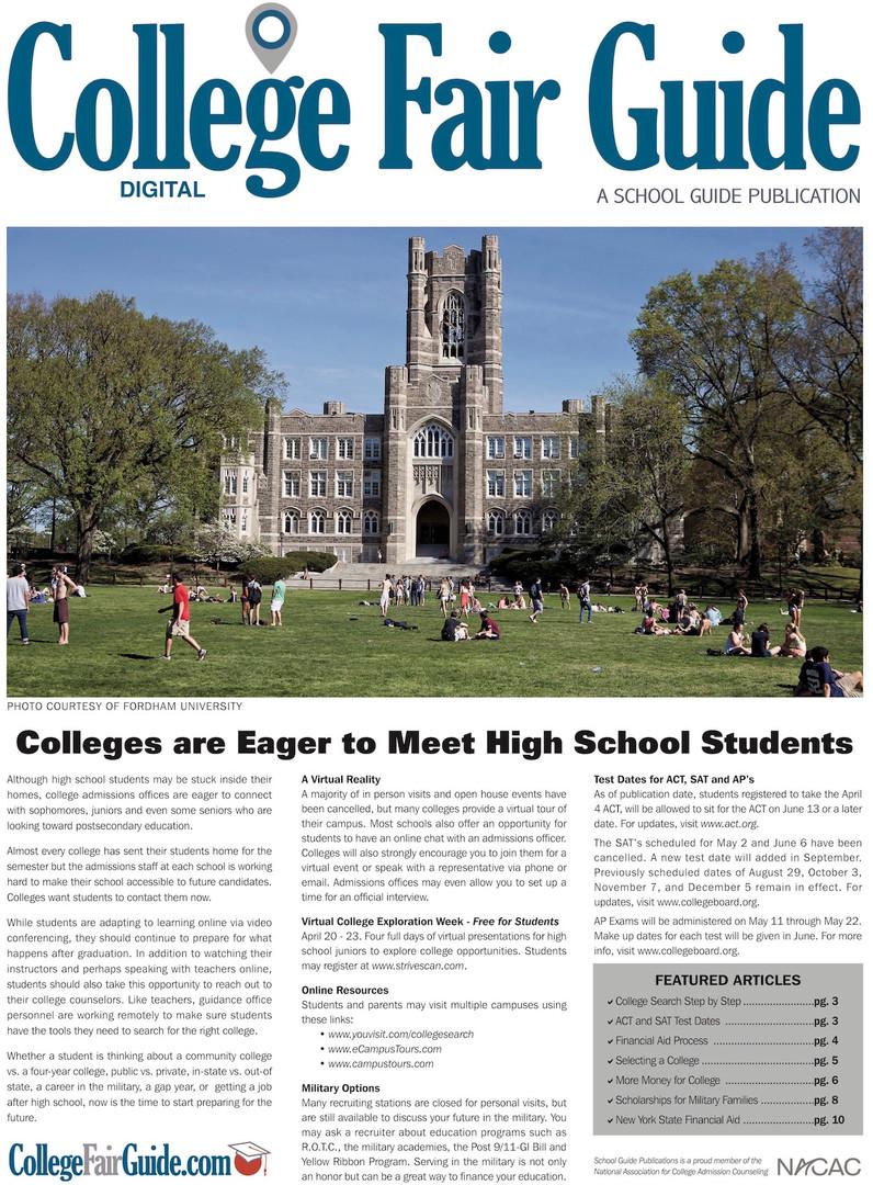 College Fair Guide
