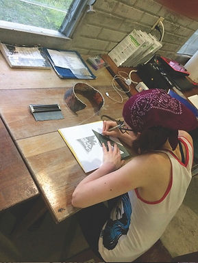 Edinboro University Student Finds Her Niche