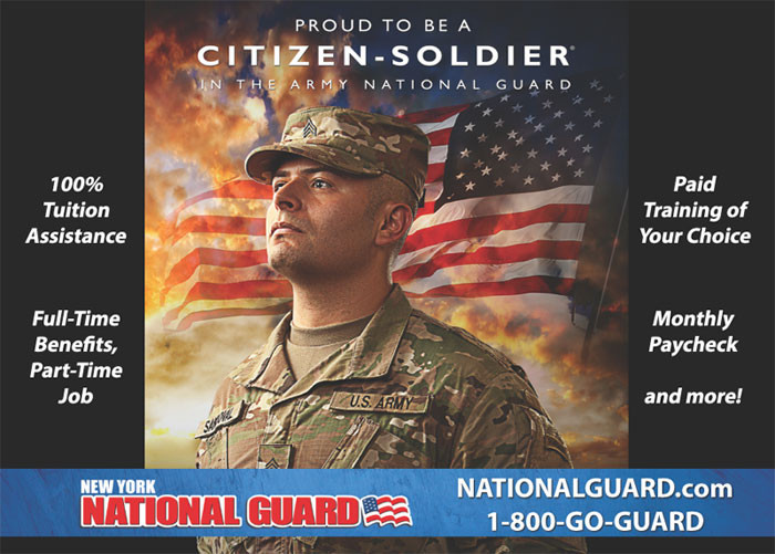 NY Army National Guard - College Fair Guide
