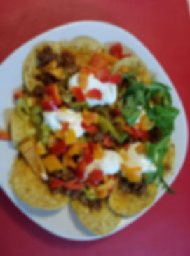Nachos Made with 406Spices Coyote Taco Seasoning