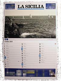 "Calendario Fotografico ""La Sicilia 2018""."