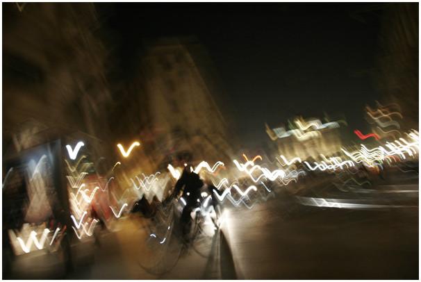 Via Dante, h. 20:44, Milano, 2009