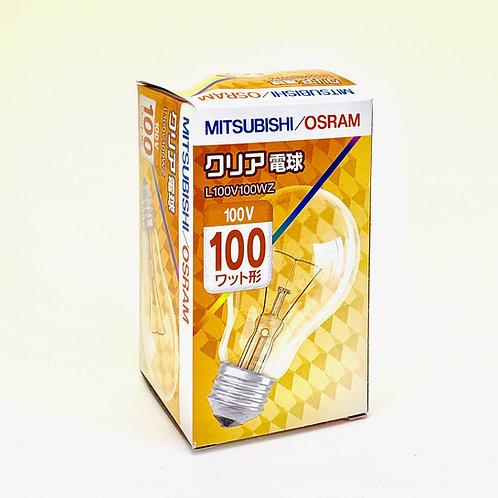 白熱クリア電球100V100W