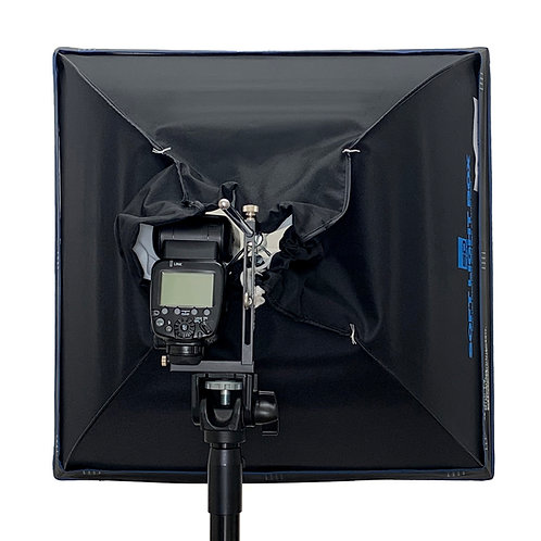ソフトライトBOXクリップオンストロボ専用 50×50cmL型セット