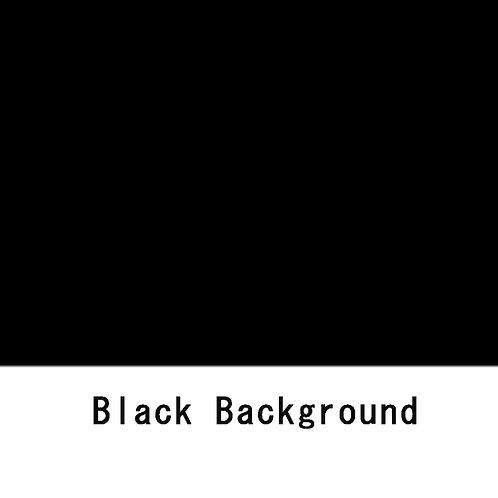 背景紙ショート 幅80cm長さ5.5m (101)ブラック
