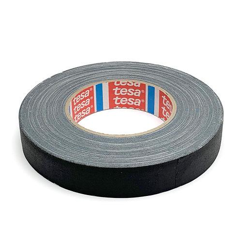 Tesa テサ 布テープ(ブラック) 25mm x50m