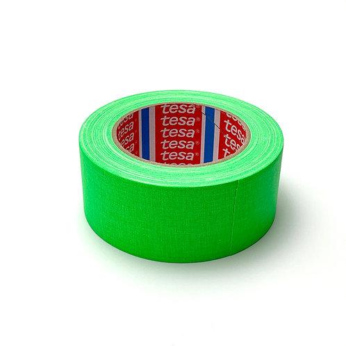Tesa テサ 蛍光ガッファーテープ蛍光グリーン50mm x 25m