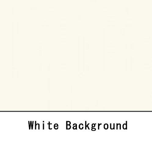 背景紙ショート 幅80cm長さ5.5m (134)ホワイト